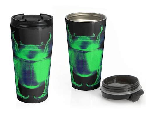 The Fair Attempts Carnal Insect Stainless Steel Travel Mug